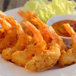 reheat fried shrimp