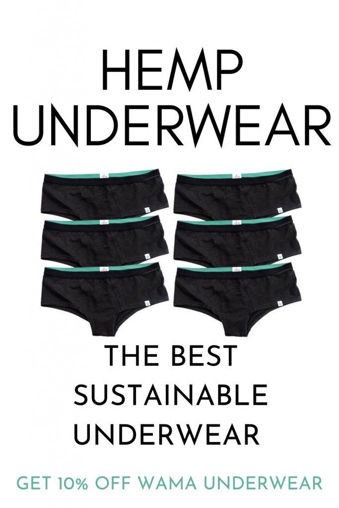 hemp underwear sustainable underwear